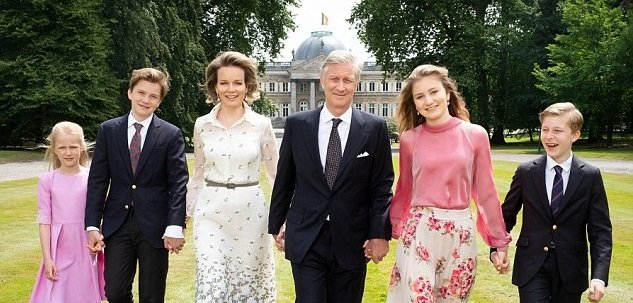 Photo of Королевская семья Бельгии позировала для серии портретов