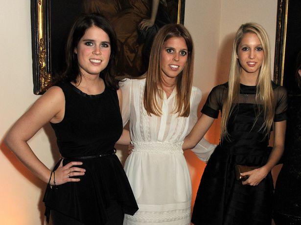 Принцесса Евгения Йоркская, Принцесса Беатриса Йоркская и принцесса Мария-Олимпия Греции