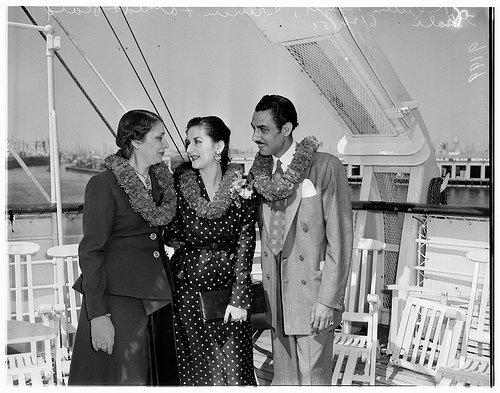 Королева Назли, принцесса Фатия и Рияд Гали