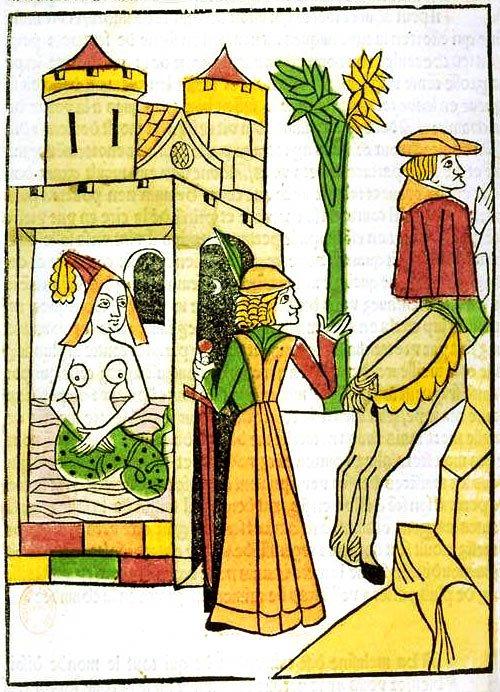 Раймондин узнаёт секрет Мелюзины (1478)