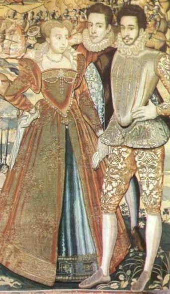 Маргарита с братом Франсуа (справа)