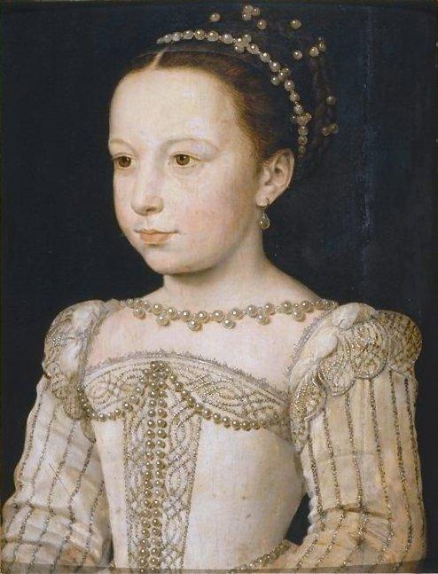 Маргарита в возрасте 7 лет