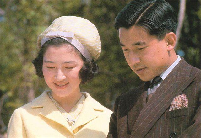 Наследный принц Акихито и Митико Сёда