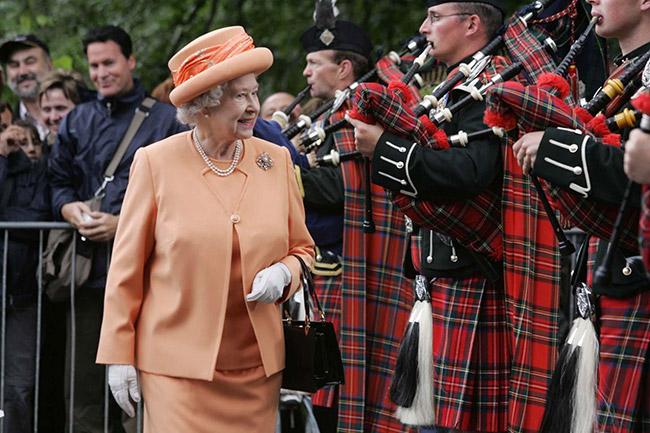 С 1843 года у монархии был официальный волынщик