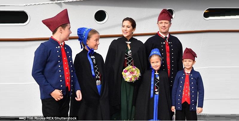 Photo of Кронпринцесса Мария и Принц Фредерик посещают Фарерские острова