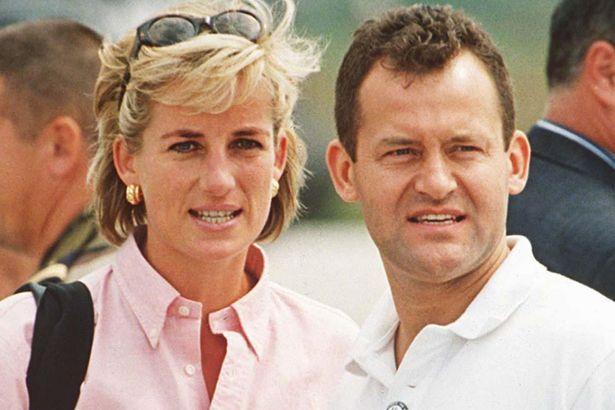 Пол Баррелл и принцесса Диана в 1997 году с визитом в Сараево, Босния