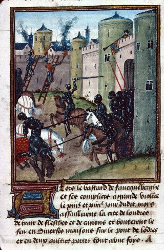 1471 год, осада Лондона Йорками (Война Алой и Белой розы)