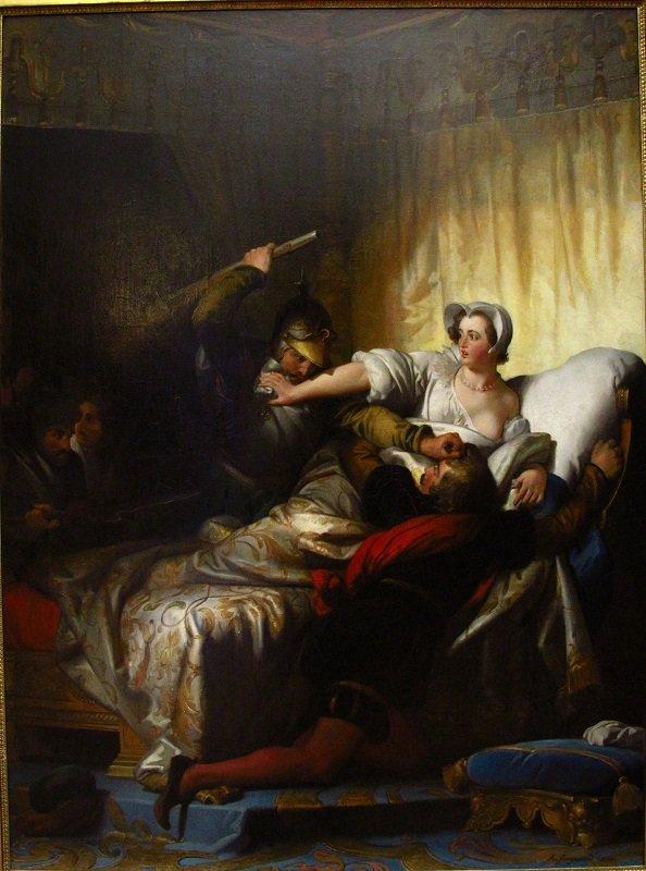 Сцена в спальне Маргариты Валуа в Варфоломеевскую ночь