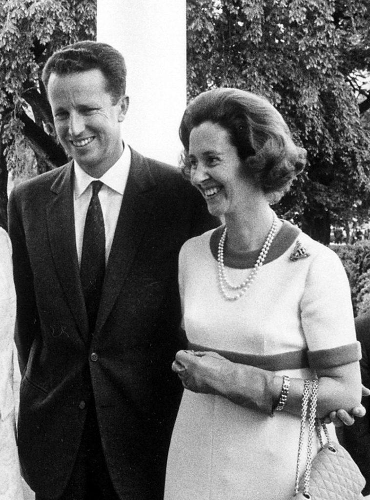 Бодуэн I и королева Фабиола. 1969 год