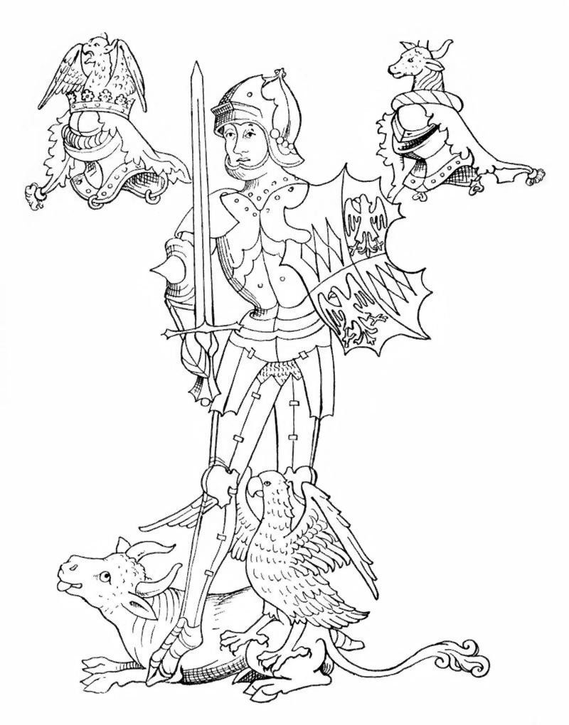 Ричард Невилл, 16-й граф Уорвик. Из книги историка Джона Роуза XV век