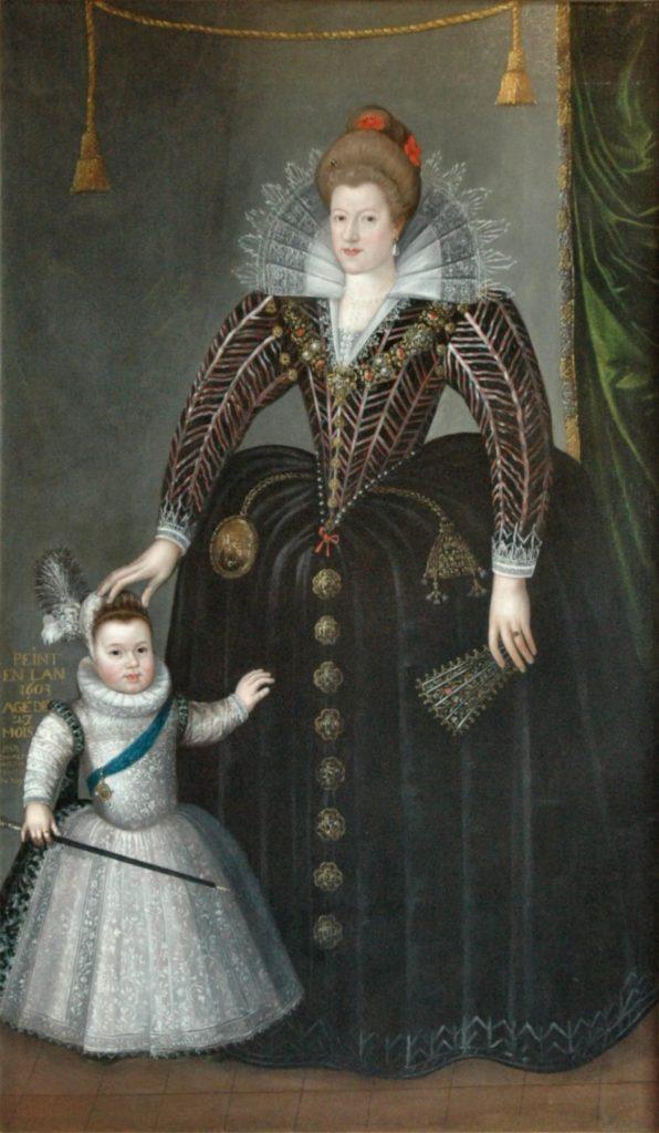 Мария Медичи и Людовик XIII