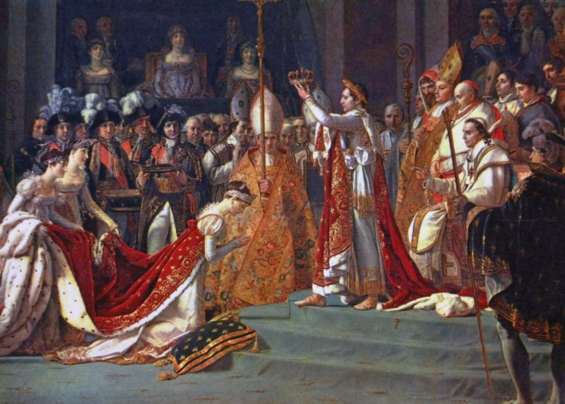 Коронация 1804 год
