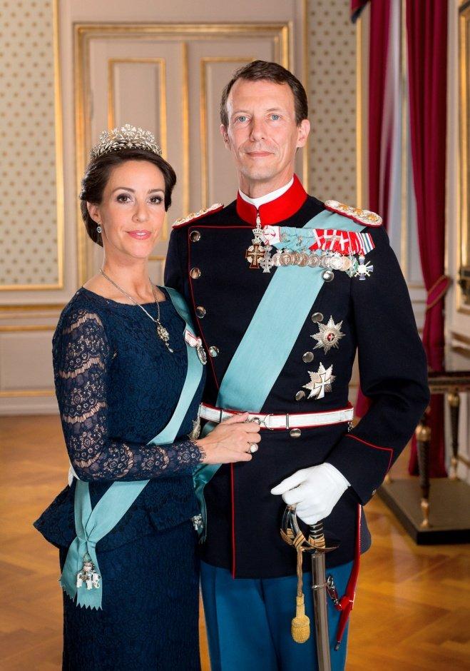 Принц Иоаким и принцесса Мари