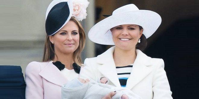 Кронпринцесса Виктория говорит о принцессе Мадлен