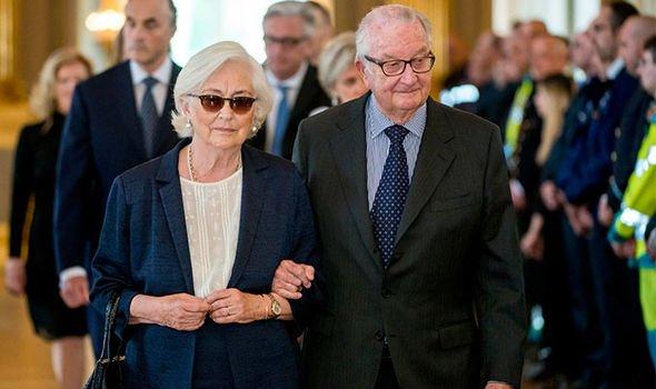 Королева Паола и король Альберт
