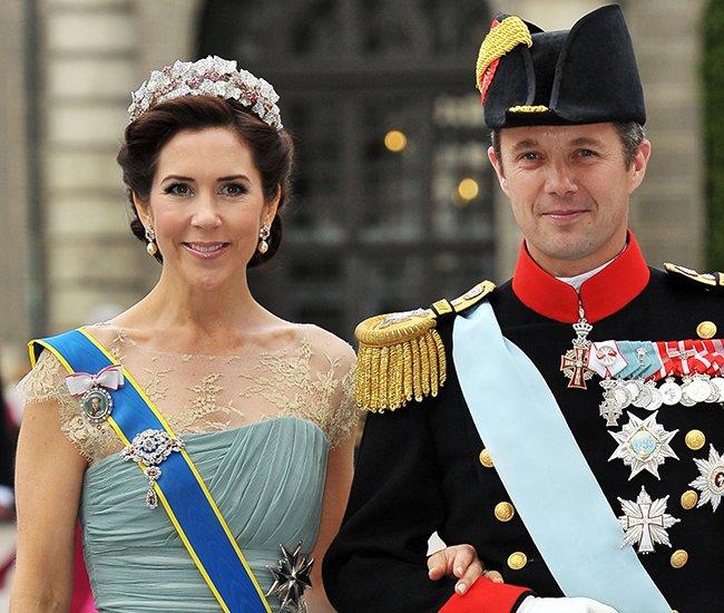 Наследный принц Дании Фредерик и кронпринцесса Мэри