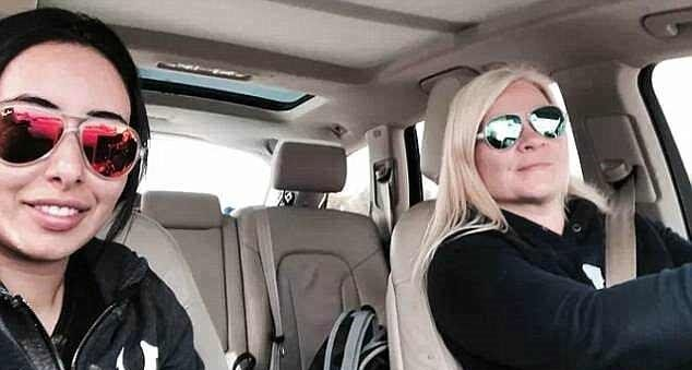 Photo of Новые фотографии похищенной принцессы Дубая