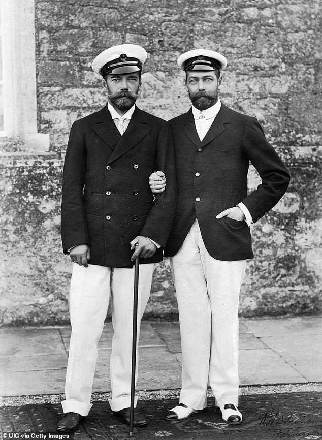 Царь Николай II и король Джордж V