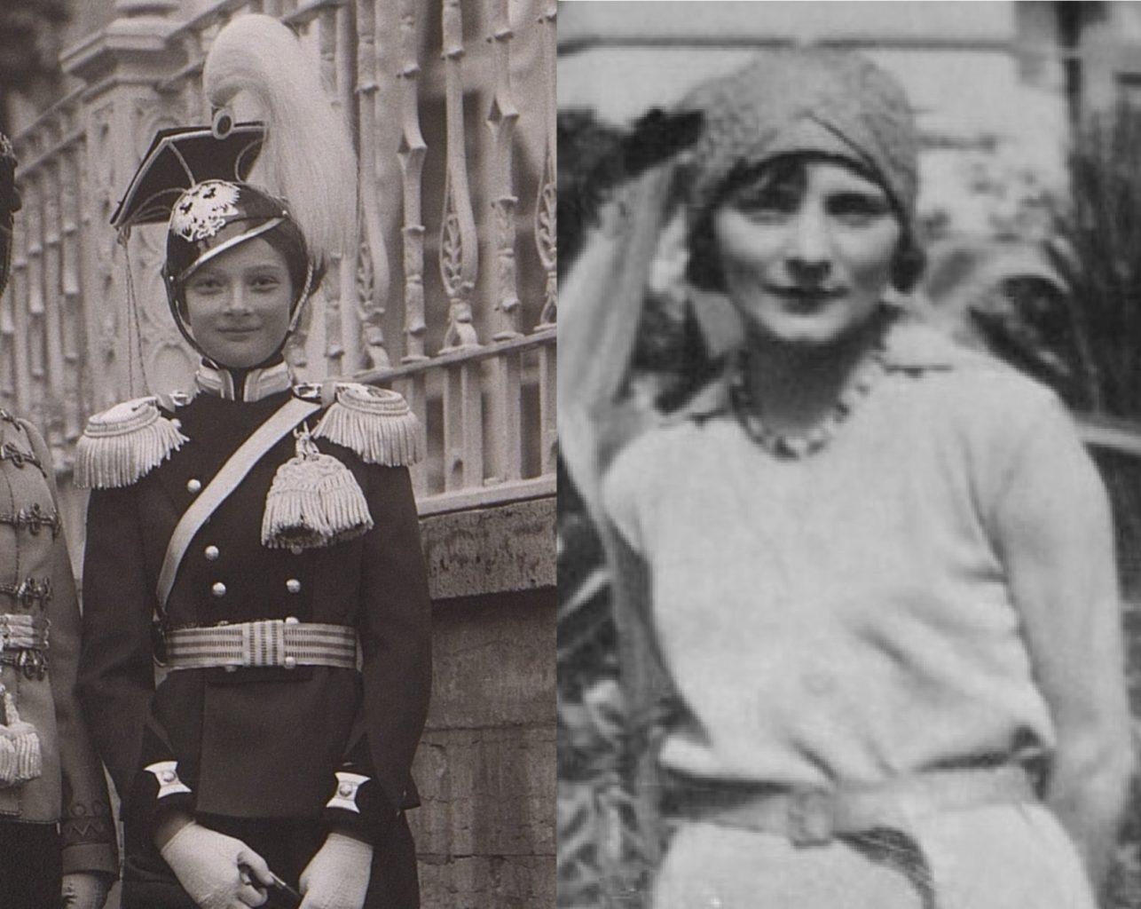 Слева - великая княжна Татьяна, справа - Мишель Анше