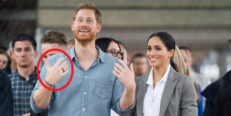 Что означает таинственное черное кольцо принца Гарри