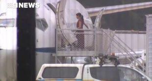 Меган Маркл и Гарри прибывают на остров Фрейзер