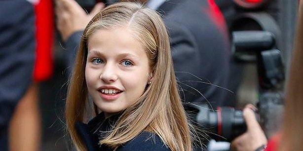 Photo of 13-летняя принцесса Леонор произносит свою первую речь