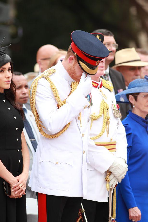 Герцог и герцогиня Сассекса посещают мемориал Анзака