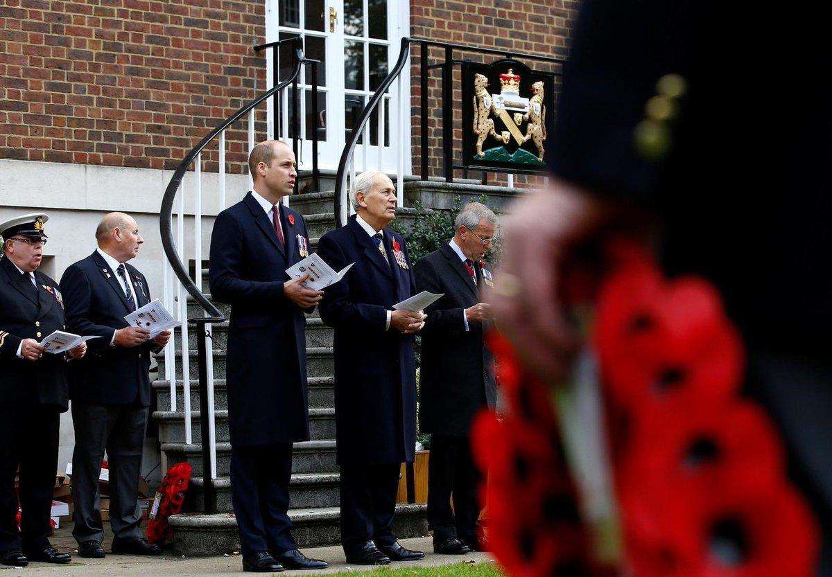 Герцог Кембриджский отдал дань памяти морякам-подводникам