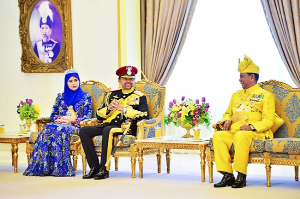 Брунейская наследная чета