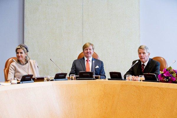 Photo of Король Виллем-Александр и Королева Максима на заседании Государственного Совета