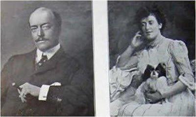 Барон Роналд Гревилл с супругой Маргарет