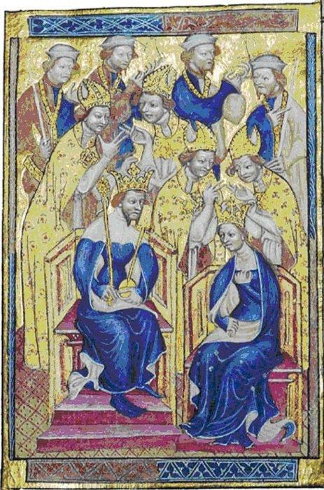 Ричард II и Анна Богемская (XIV век)
