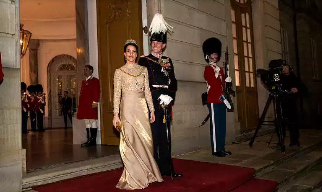 Принц Иоахим и принцесса Мари