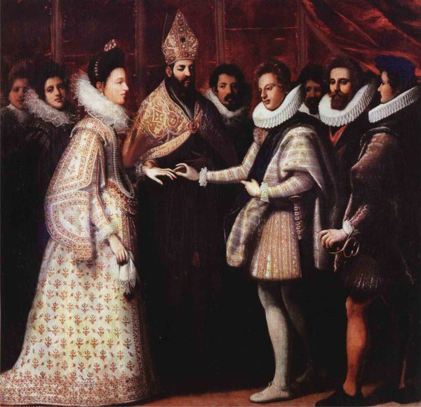 Свадьба Генриха Наваррского и Маргариты Валуа