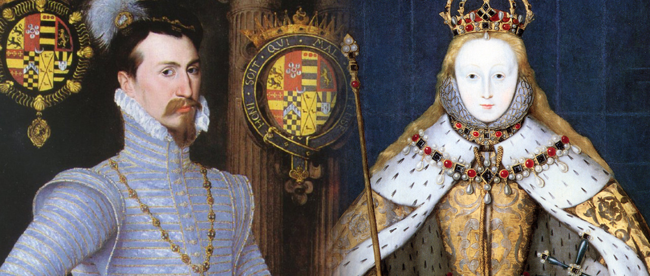Роберт Дадли и королева Елизавета I