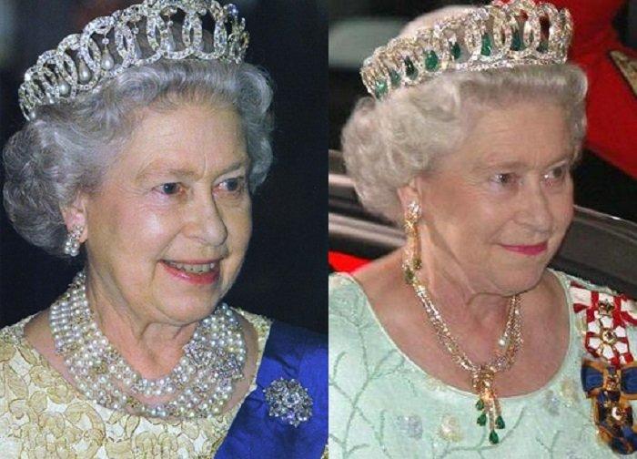 Елизавета II во Владимирской тиаре