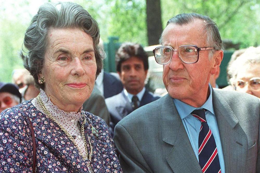 Леди Брэбурн с мужем