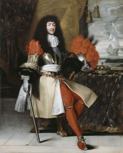Людовик XIV, король Франции