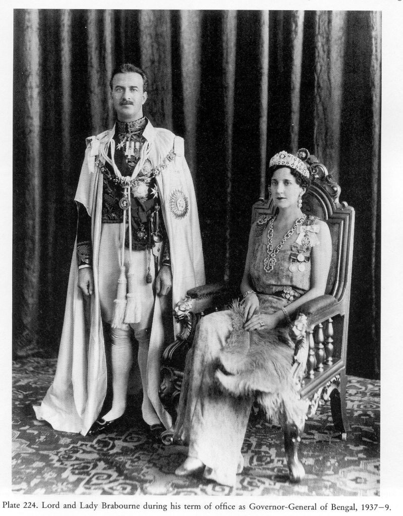 5-ый барон Брэбурн и его жена леди Дорин, родители мужа Патрисии