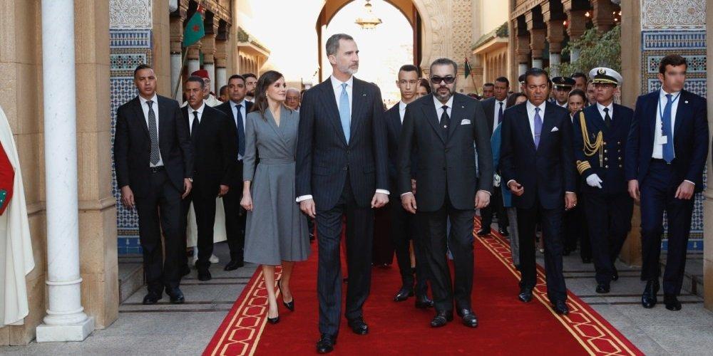 Photo of Король и королева Испании посетили Марокко