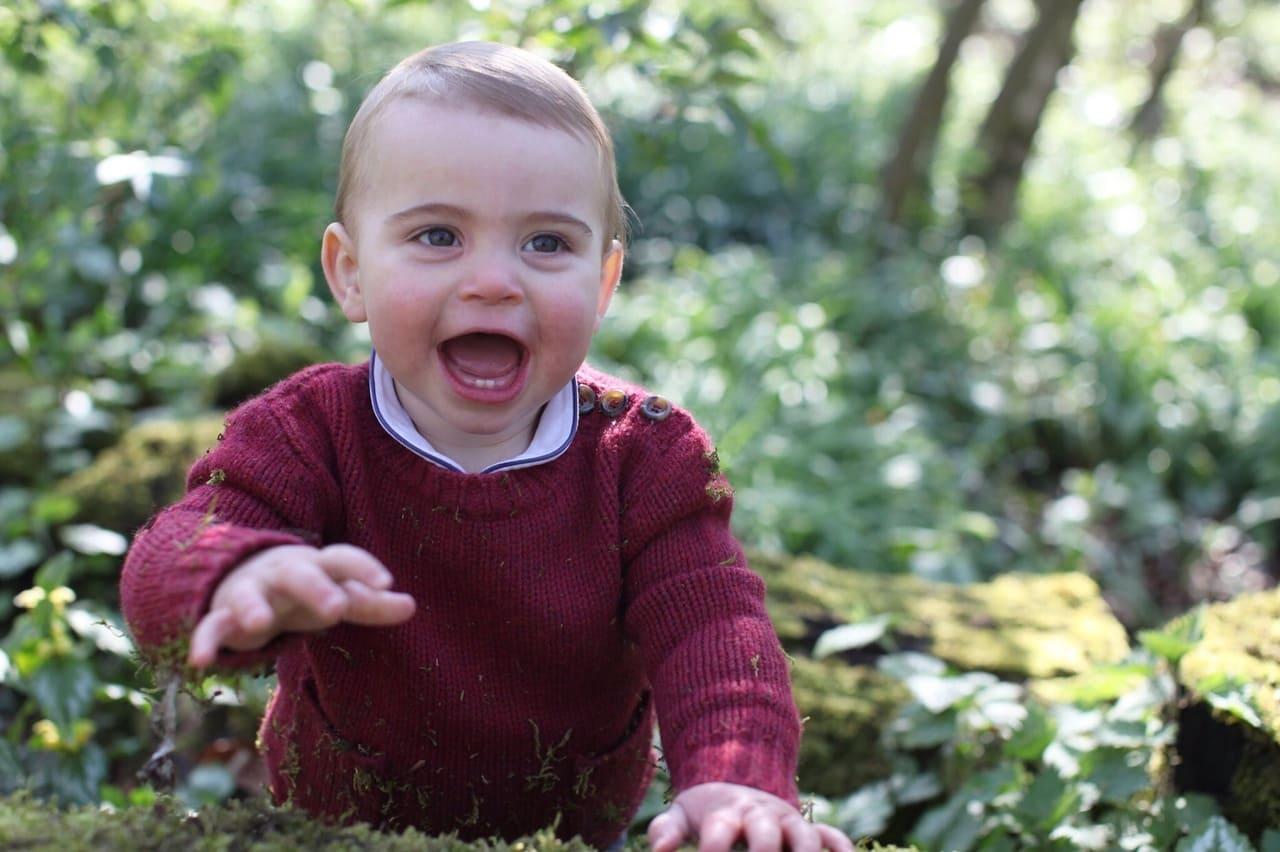 Photo of Принцу Луи Кембриджскому – 1 год