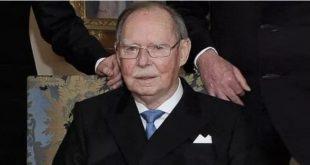 Великий герцог Люксембургский Жан умер в возрасте 98 лет