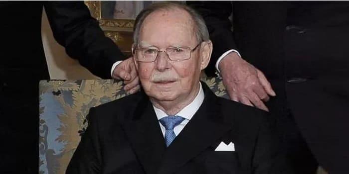 Photo of Великий герцог Люксембургский Жан умер в возрасте 98 лет