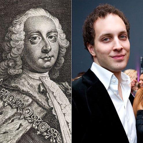 Фредерик Луис, принц Уэльский и Фредди Виндзор, сын принца Майкла Кентского