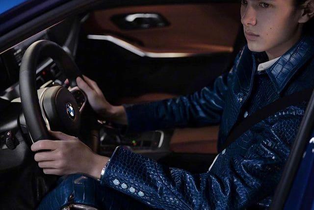 "Photo of Принц Николай снялся в рекламе BMW для ""Harper's BAZAAR China"""