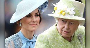 Кейт и королева