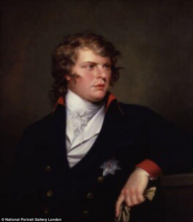 """Принц Август Фридрих (на фото в возрасте 25 лет), шестой сын """"Безумного"""" Короля Георга III, стал первым герцогом Сассекса в 1801 году"""