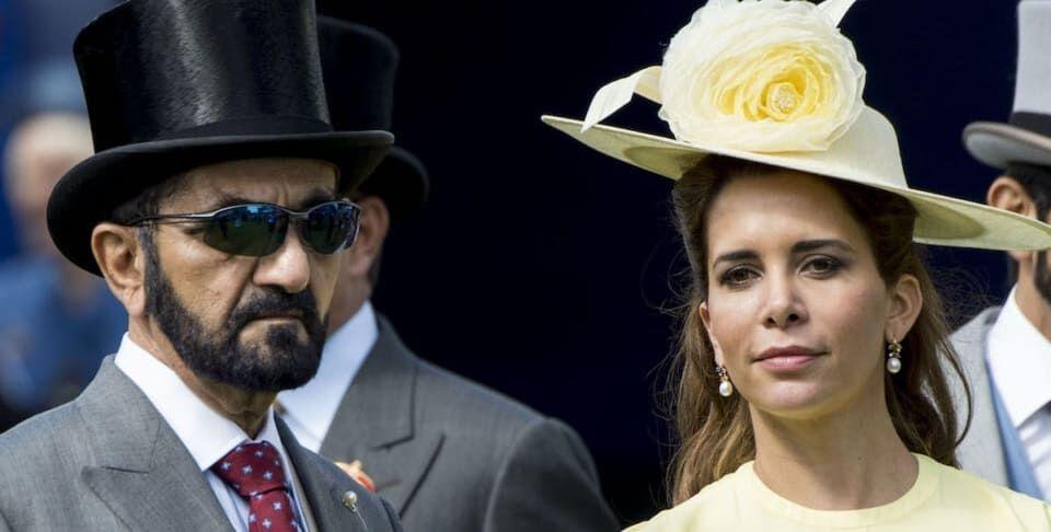 Мухаммед аль-Мактум и принцесса Хайя