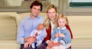 Принц Бельгии Амедео и принцесса Элизабетта вновь стали родителями