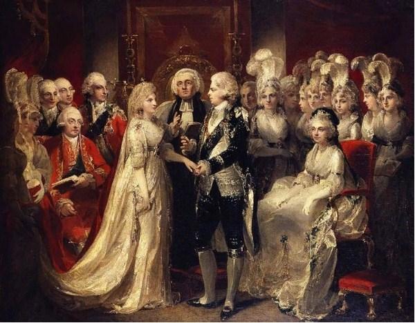 Свадьба Георга иКаролины